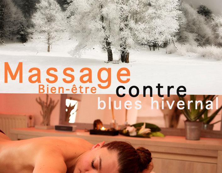 Le Massage Bien-être contre la dépression saisonnière
